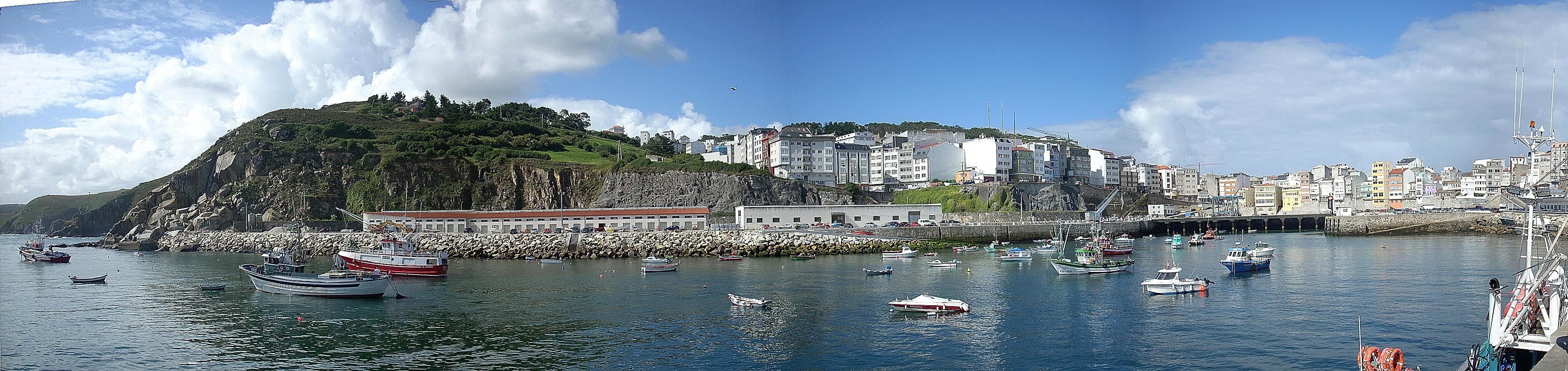 Panoramica de Malpica, A Coruña