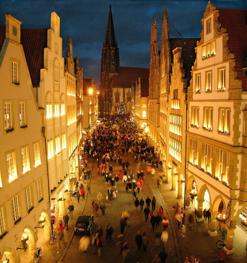 Willamette International Travel: Dreaming With Gold Eyes: Travel Guide: Muenster, Germany