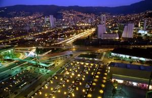 Vista panorámica de  Medellín