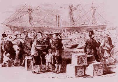 Chinese immigration to australia gold rush