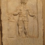 Grave stele of the provocator(?) Nympheros. Roman Period, 2nd-3rd c. C.E., Western Anatolia. Istanbul Archeological Museum.