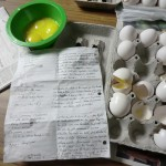 Lots of eggs and magic recipes!