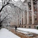 Snowed Town Hall