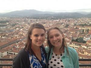 Top of the Santa Maria Duomo