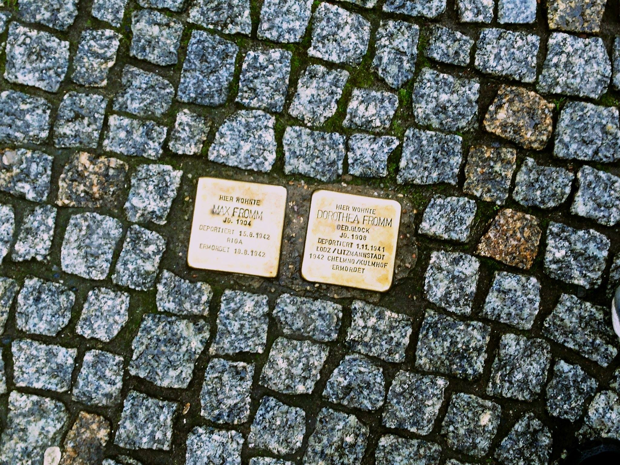 Holocaust Memorial Tiles in Berlin