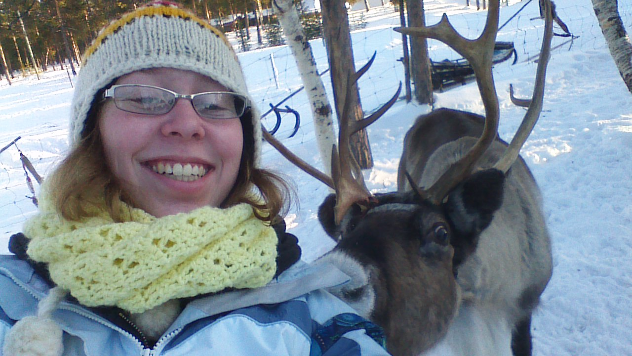 To feed a Reindeer from my hand is an experience that I will always remember. How many people can say they have taken a selfie with Reindeer?  A experience that can only happen if someone treks up to Lapland.