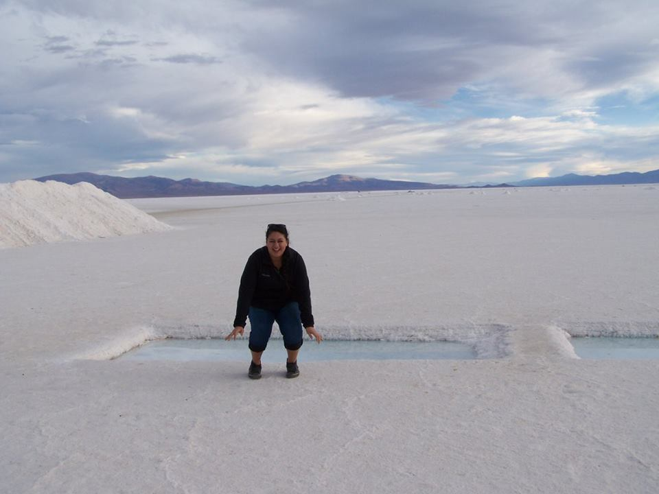 The salt flats of northern Argentina